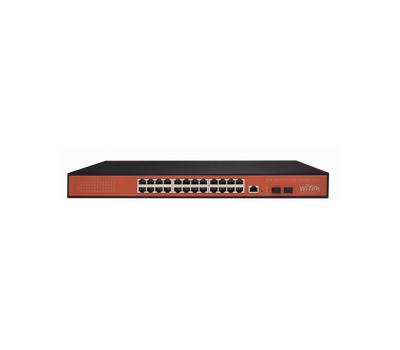Управляемый гигабитный L2 коммутатор Wi-Tek WI-MS326GF